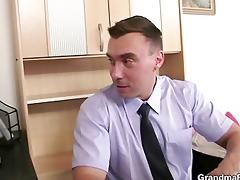 she sucks and fucks dongs at job interview