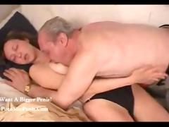 russian grand-dad nailed his granddaughter,,...
