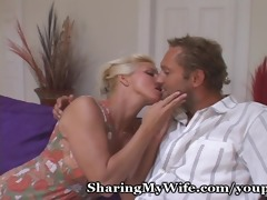 housewife craves old and youthful knob