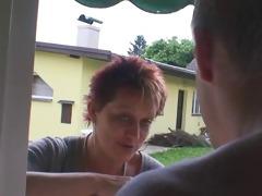 smart guy copulates granny next door