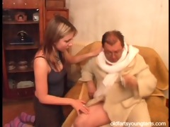 natalli fucking an unsightly old fellow - coffee