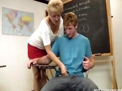 teacher denies agonorgasmos
