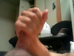 brother jerking off