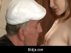 horny oldmen bangs hard young sluts in holiday
