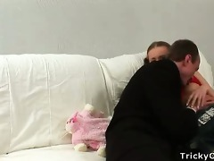 horny teacher copulates his glad student in the