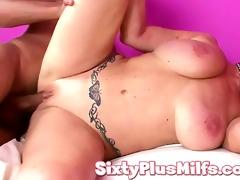 large tit hawt granny fucking