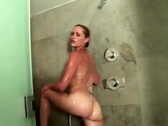 divorced mother daniela takes a shower