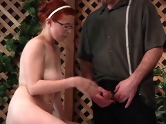 dad gives not daughter sex education wf