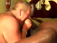 daddy suck black cock