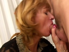 hot mama cant resist her sons ally