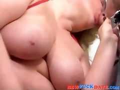 father and son take turn to fuck bbw