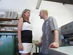 corpulent blond german mature