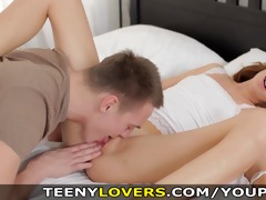 teeny lovers - romantic sex with wild excitement