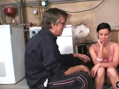 hot nubile screwed in a basement