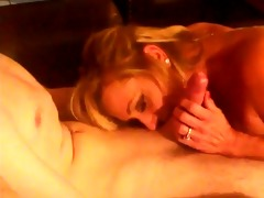 hawt blond aged engulf young cock