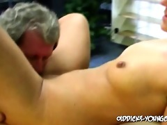 old stud fucks a young pussy