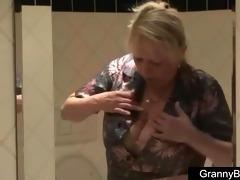 large boobs granny screwed hard