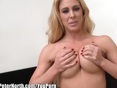 milf cherie deville sloppily throats cock