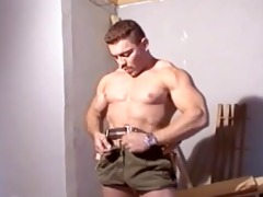 muscle daddy construction worker solo