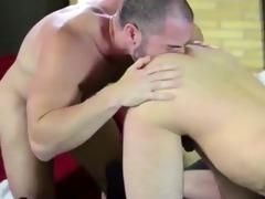 dad guy anal action in dark socks