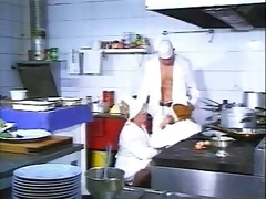 chefs serve up some cock to hungry matures