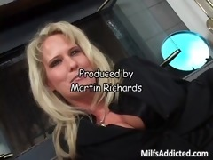 big tit blonde mother i fills her face hole