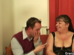guys interview and fuck obese slut