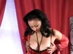 bigtit d like to fuck in stockings rubs her aged