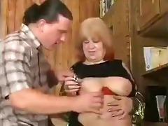 redhead big beautiful woman granny fucked