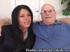 sexy aged copulates younger guy