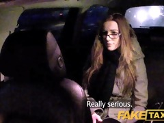 faketaxi hotty with glasses bonks for rent specie