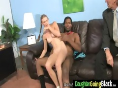 young daughter with admirable ass screwed by a