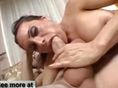 milf lures younger dude to her abode for sex