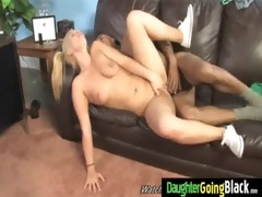 young daughter with nice arse screwed by a black