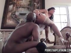 lisa ann has fun with prince big dark dick
