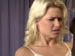 lesbian babes love strap-ons 2: stepmom takes