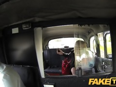 faketaxi breathtaking scottish golden-haired with