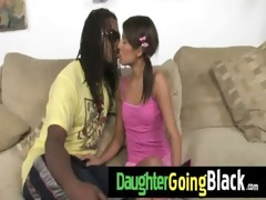 biggest dark knob fucks my daughter teen slit 11