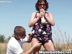 exciting mom acquires her hairy muf fucked part1