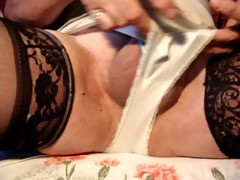 jacking off in my sister on laws panties pt 1