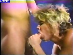 ginger lynn - vintage blonde seduces guy