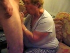 old obese mother in law sucks me off