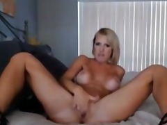 big scoops golden-haired d like to fuck vibrator