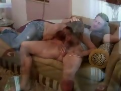 hawt redhead older seduces her daughters boyfriend