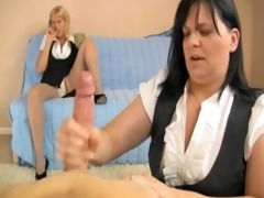 double older handjob