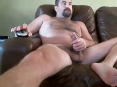 daddy with a large shlong on the livecam