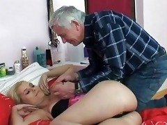nasty old fellow screws youthful blonde