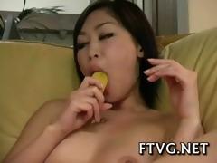 fake penis in her wet holes