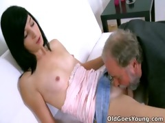 alisa gets to learn how top suck pounder properly