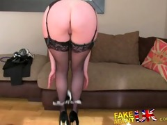 fakeagentuk stocking clad posh milf willing to